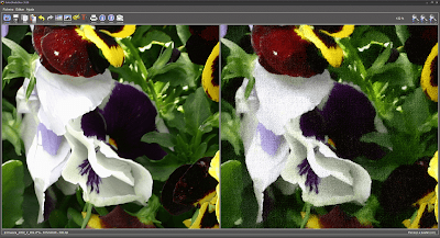 Detalhe Exemplo FotoSketcher - esboço a pastel-cor