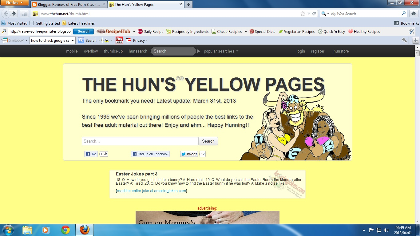 the hun yellow pages