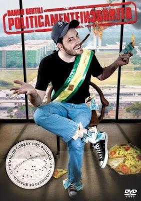 Filme Poster  Danilo Gentili – Politicamente Incorreto DVDRip XviD & RMVB Nacional-TELONA