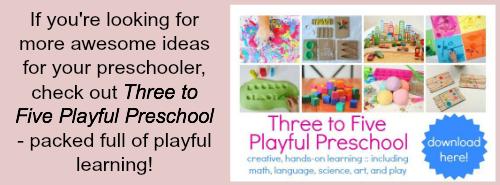 ebook resource for parents of preschoolers