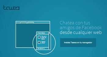 Twatea chatea con tus amigos de Facebook - www.dominioblogger.com