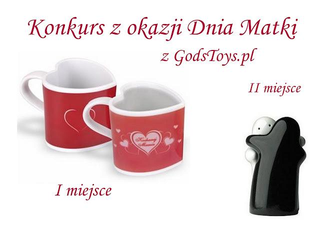 KONKURS z GodsToys.pl na Dzień Matki