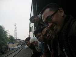 "Backpacker by Train with ""sahabat Kahfi"" ^_^"
