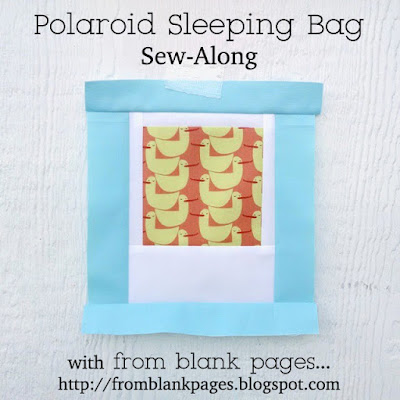 From Blank Pages Polaroid Sleeping Bag
