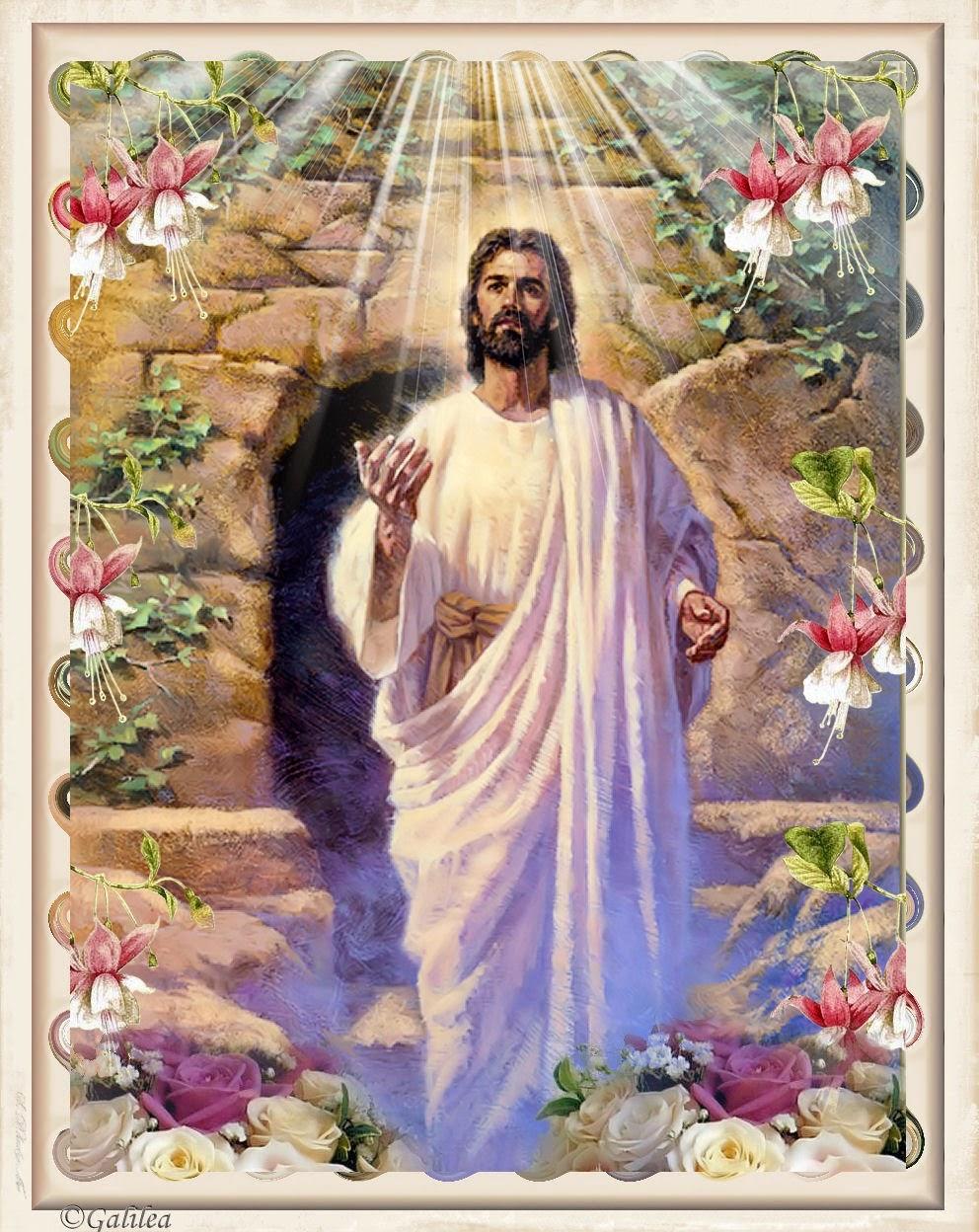 IMÁGENES DE JESÚS RESUCITADO - ® Gifs y Fondos Paz enla