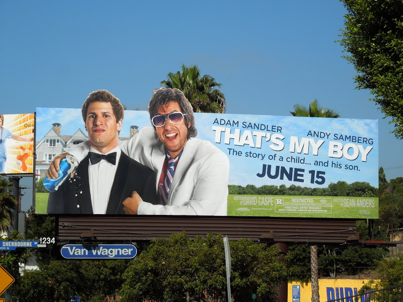 Thats My Boy movie billboard