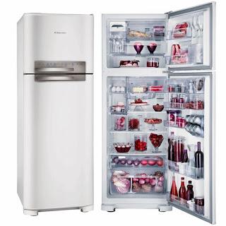 refrigerador/geladeira eletrolux frost free 430 litros