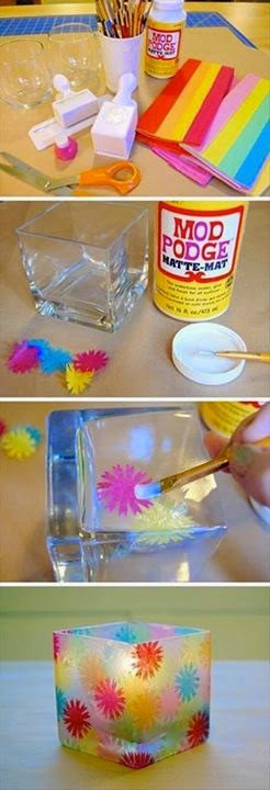 Four Tutorials Using used Bottles,