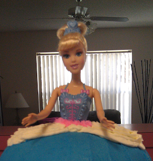 how make Barbie cake