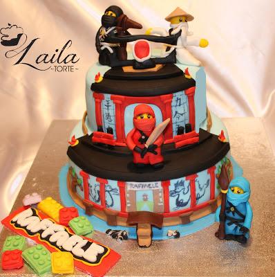 Le torte di laila ninjago lego for Decorazioni torte ninjago