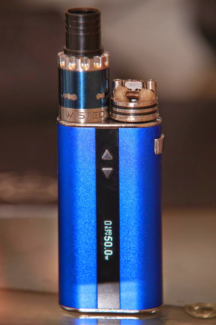 iStick 50w + Twisted Messes + Hochvolt 1,9 Ohm