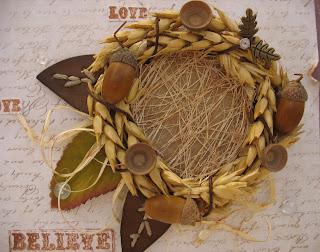 Делаем интерьерную композицию «Колоски пшеницы видео мастер-класс 27