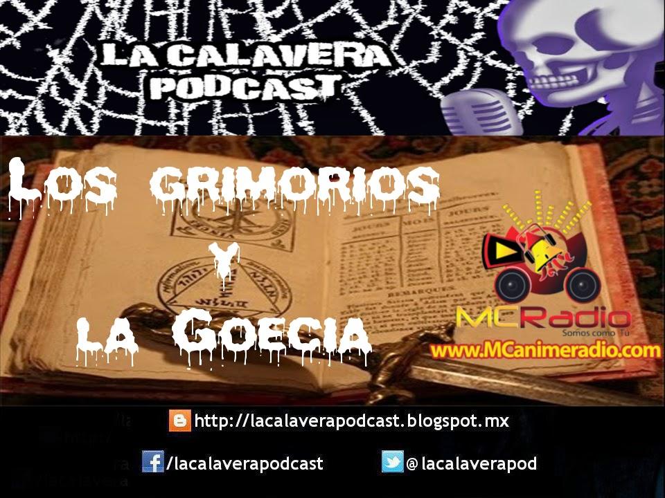 La Calavera: Grabación del programa del 5 de abril de 2015 sobre Goecia y Grimorios.