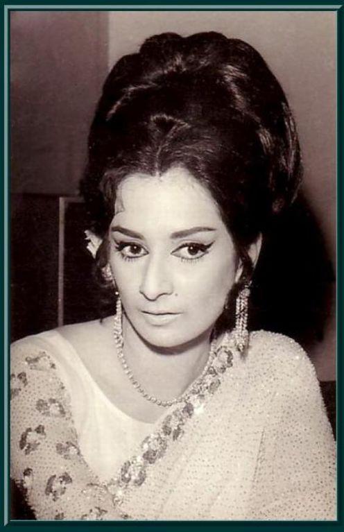 Portraits of hindi movie actress saira banu old indian for Old indian actress photos