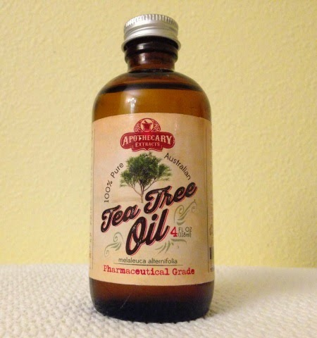 4 oz bottle of Red Rover Tea Tree Oil