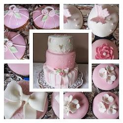 Esküvöi torta muffinokkal