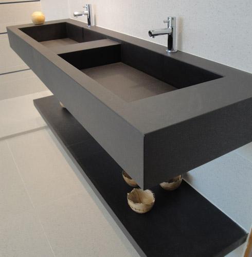 Porcelanato muito além de um simples piso!  Comprando Meu Apê  Comprando M -> Pia Bancada Banheiro Porcelanato
