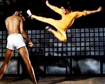 Kareem Abdul-Jabbar vs Bruce Lee in Game of Death