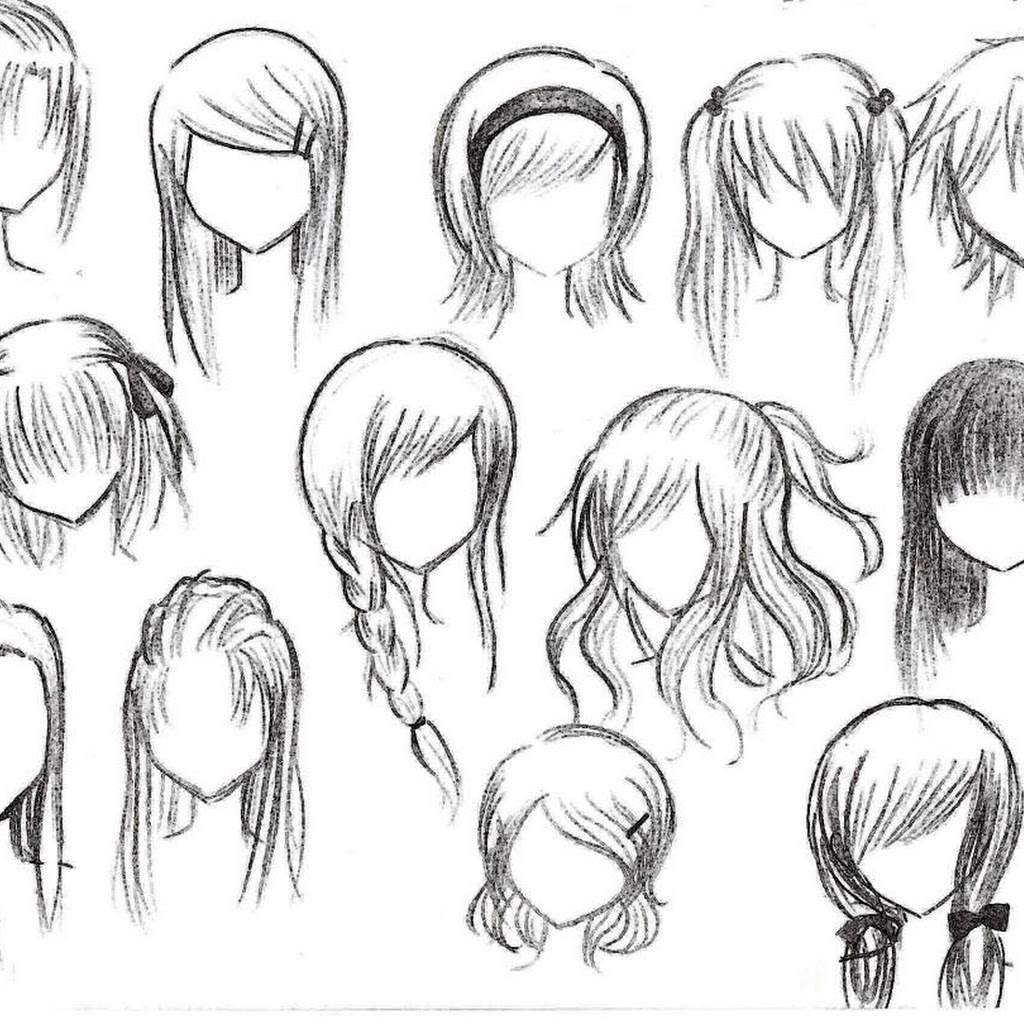 Trends Hairstyles Anime Girl Hairstyles