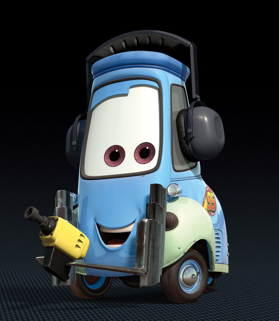 "6 Free Disney Cars Cartoon Characters "" Guido "" Wallpaper"