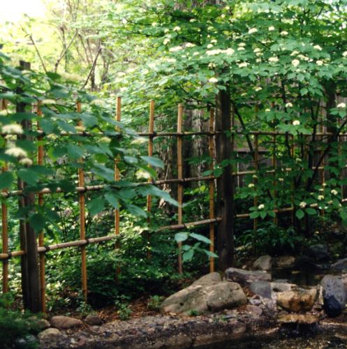 Bamboo Garden Fencing4