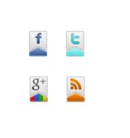 cara baru menambahkan icon social di blog untuk tutorial blogger