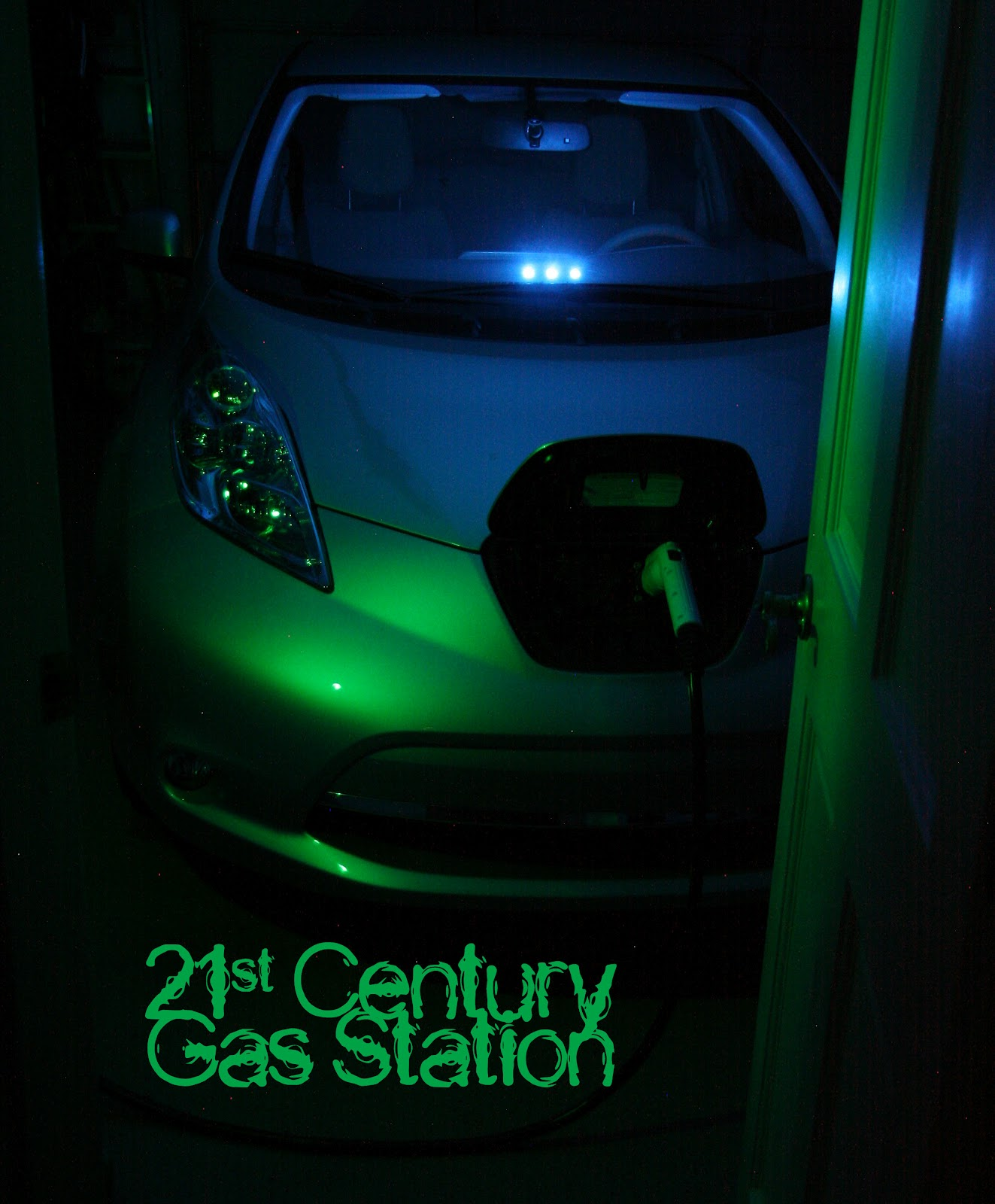 Plugincharge 2012 nissan leaf an owners review i installed a schneider ev2430ws evse in my garage and it takes me 10 seconds to plug in my car on my way in the housei certainly dont miss pumping or vanachro Choice Image