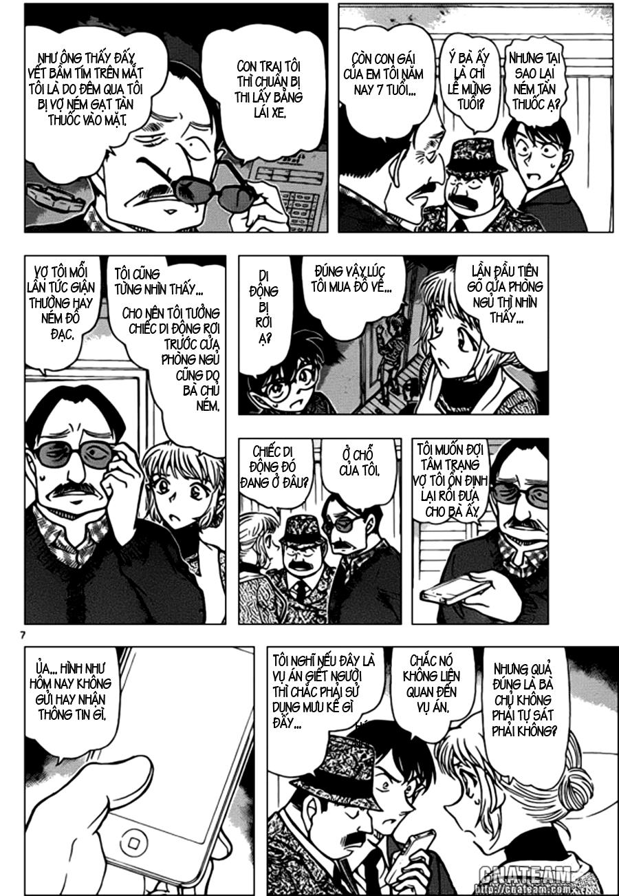 Thám Tử Lừng Danh Conan - Chapter 848 - Pic 8