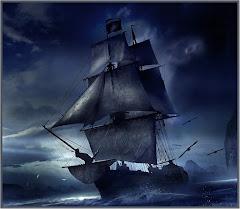 Noc na morzu...
