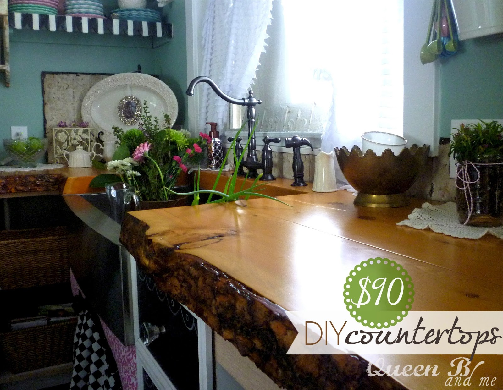 Countertop Diy : Measure the length and width of your countertops..