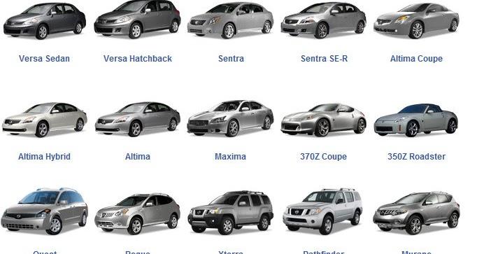 Nissan Car Models Vumandas Kendes