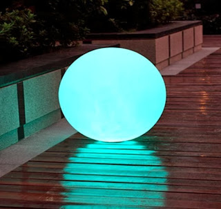 LED GLOW Furniture ORB, Glows as an accent piece, Floats  and water resistant too