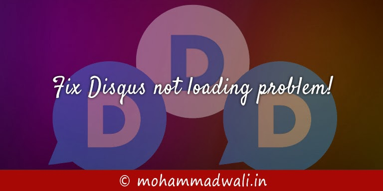 Disqus not loading