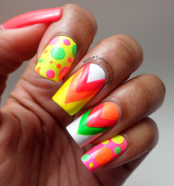 nail college drop neon nails
