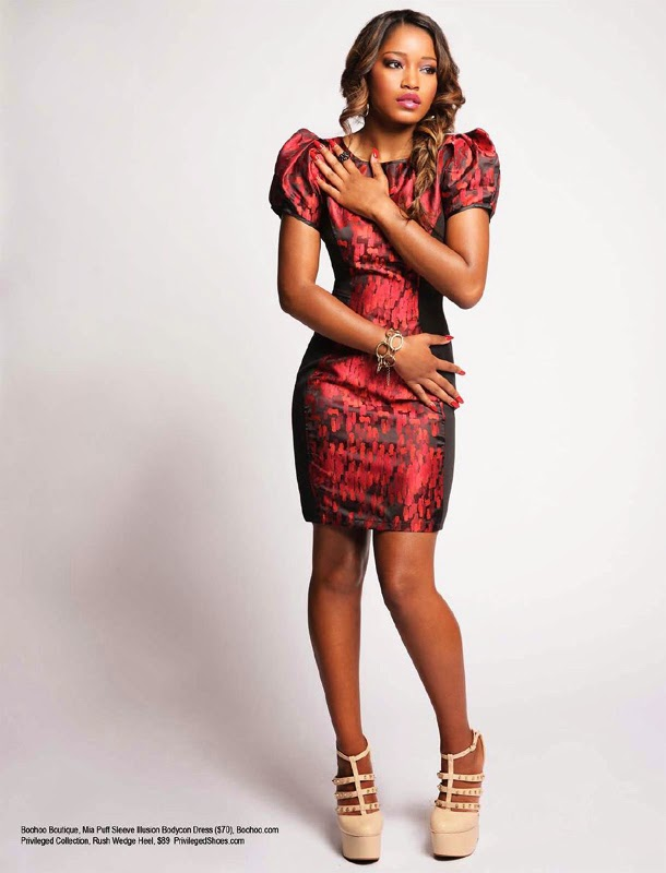 Keke Palmer Modern Fashion Images From Regard Magazine Oct 2013 Issue