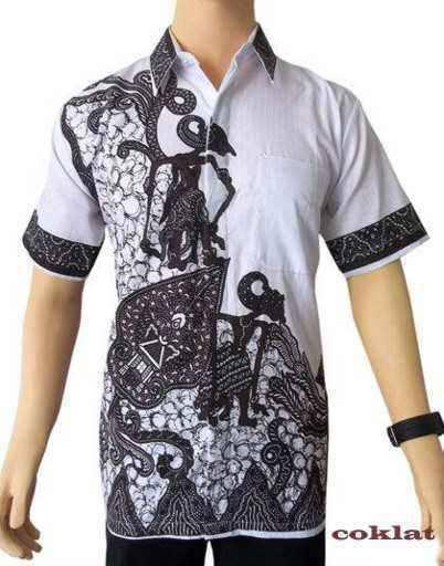 Baju Kemeja Batik Pria Terbaru Lengan Pendek  Baju Batik Modern