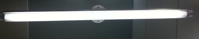with optional round cover plate basic bathroom strip