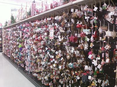 Hobby Lobby Racks And Racks Of Christmas Ornaments In July!