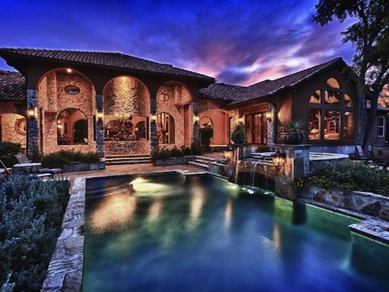 Luxur blog dream villa in texas from usd 3 2 million for Pool show san antonio