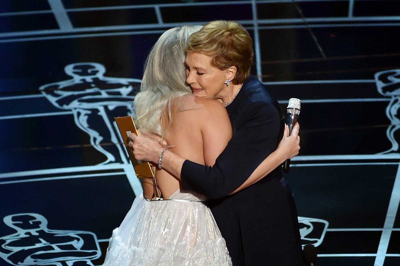 Lady Gaga y Julie Andrews