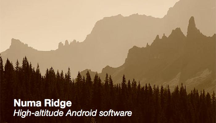 Numa Ridge