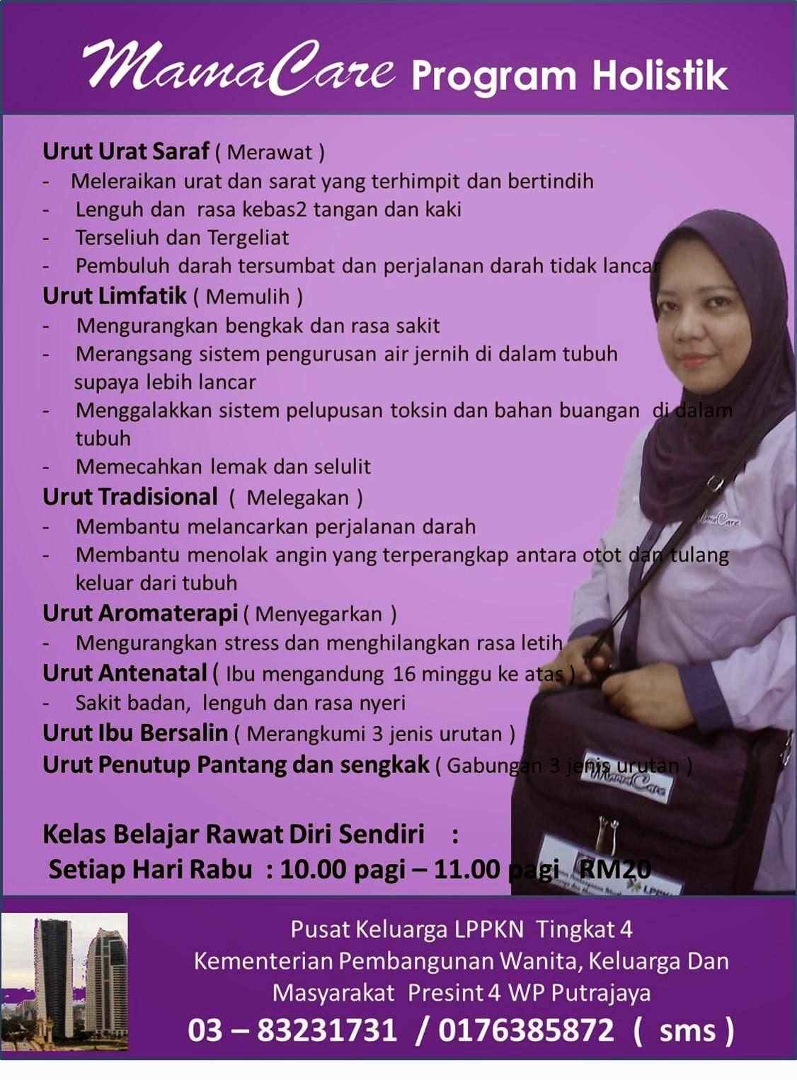 Rawatan Di Klinik LPPKN Putrajaya
