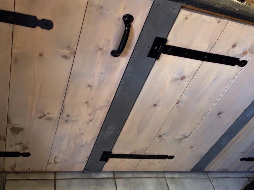 Watervaste Verf Keuken: Keukenblad verven.