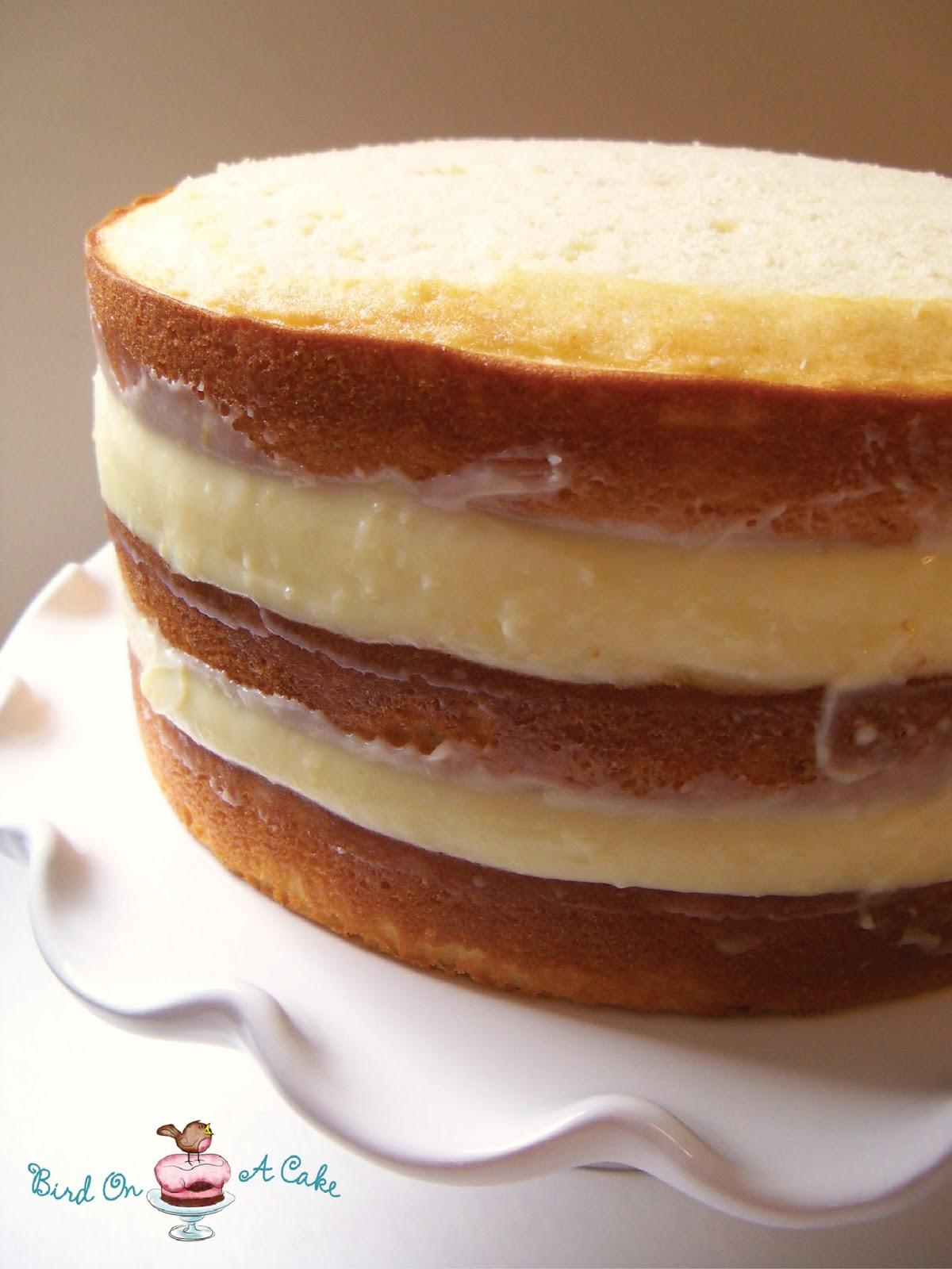 Lemon Pudding Cake Filling