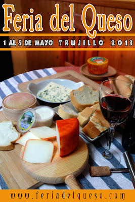 Cartel de la feria del queso de Trujillo 2013