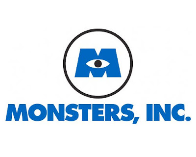 Disney Pixar Monsters Inc Logo
