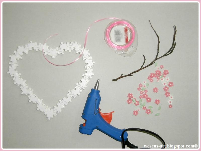 PuzzleHeartWreath wesens-art.blogspot.com