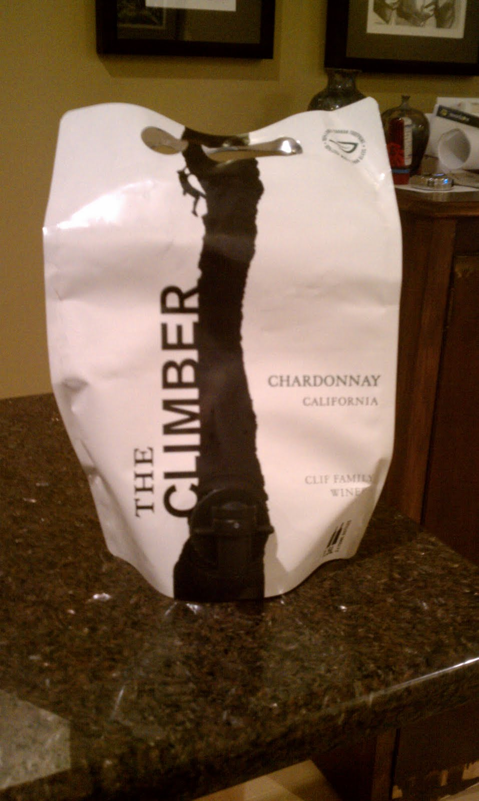 Climber Chardonnay from Clif Winery