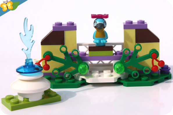 LEGO® Friends Animaux - Série 5 - Le perroquet et sa fontaine