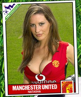 Natasha - Manchester United Girl
